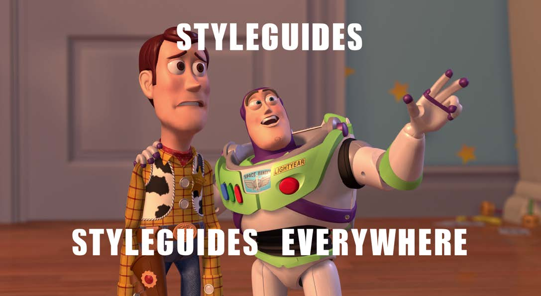 Style guides to Style Sheets